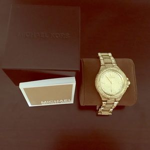 Michael Kors women's gold watch